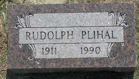 PLIHAL, RUDOLPH - Bon Homme County, South Dakota | RUDOLPH PLIHAL - South Dakota Gravestone Photos