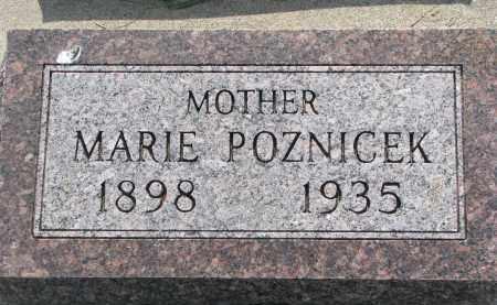 POZNICEK, MARIE - Bon Homme County, South Dakota | MARIE POZNICEK - South Dakota Gravestone Photos