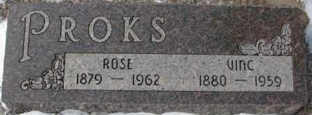 PROKS, ROSE - Bon Homme County, South Dakota   ROSE PROKS - South Dakota Gravestone Photos