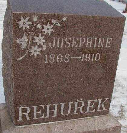 REHUREK, JOSEPHINE - Bon Homme County, South Dakota | JOSEPHINE REHUREK - South Dakota Gravestone Photos