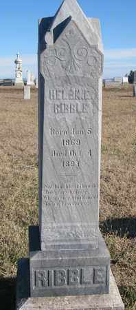 RIBBLE, HELEN E. - Bon Homme County, South Dakota | HELEN E. RIBBLE - South Dakota Gravestone Photos