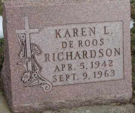 RICHARDSON, KAREN L. - Bon Homme County, South Dakota | KAREN L. RICHARDSON - South Dakota Gravestone Photos