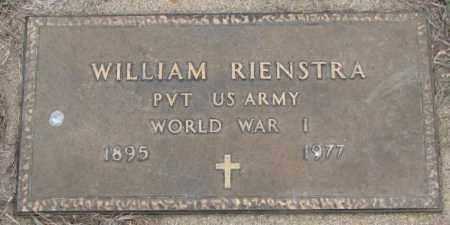 RIENSTRA, WILLIAM (WW I) - Bon Homme County, South Dakota | WILLIAM (WW I) RIENSTRA - South Dakota Gravestone Photos