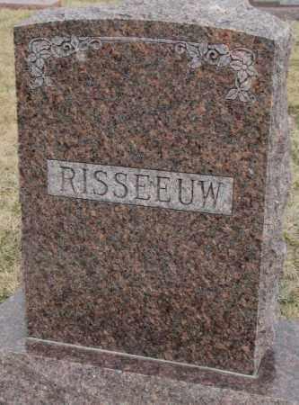 RISSEEUW, PLOT - Bon Homme County, South Dakota | PLOT RISSEEUW - South Dakota Gravestone Photos