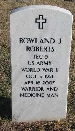 ROBERTS, ROWLAND J. - Bon Homme County, South Dakota | ROWLAND J. ROBERTS - South Dakota Gravestone Photos