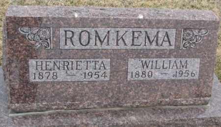 ROMKEMA, WILLIAM - Bon Homme County, South Dakota | WILLIAM ROMKEMA - South Dakota Gravestone Photos