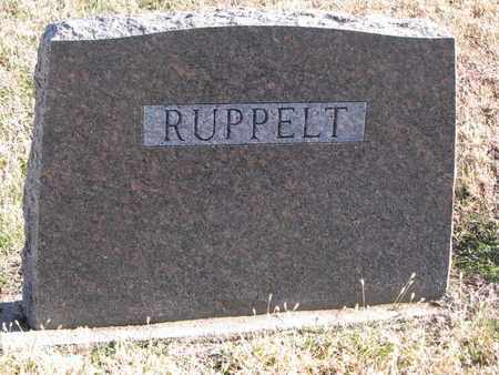 RUPPELT, FAMILY STONE - Bon Homme County, South Dakota   FAMILY STONE RUPPELT - South Dakota Gravestone Photos