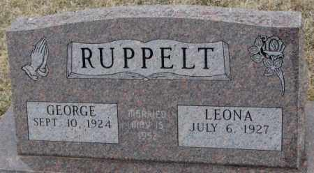 RUPPELT, GEORGE - Bon Homme County, South Dakota | GEORGE RUPPELT - South Dakota Gravestone Photos