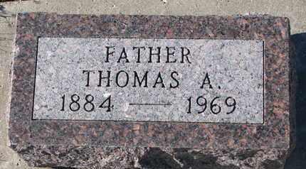 RUPPELT, THOMAS A. - Bon Homme County, South Dakota   THOMAS A. RUPPELT - South Dakota Gravestone Photos