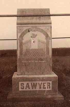 SAWYER, RAY BELL - Bon Homme County, South Dakota | RAY BELL SAWYER - South Dakota Gravestone Photos