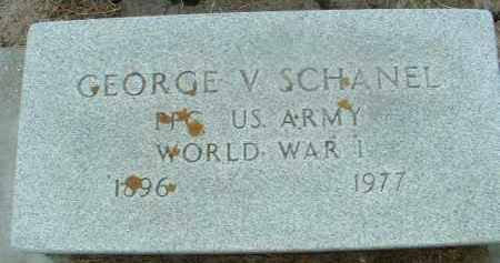 SCHANEL, GEORGE V. - Bon Homme County, South Dakota | GEORGE V. SCHANEL - South Dakota Gravestone Photos