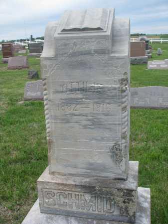 VOIGT SCHMIDT, OTTILIE - Bon Homme County, South Dakota | OTTILIE VOIGT SCHMIDT - South Dakota Gravestone Photos