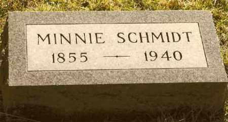 SCHMIDT, WILHELMINA - Bon Homme County, South Dakota   WILHELMINA SCHMIDT - South Dakota Gravestone Photos