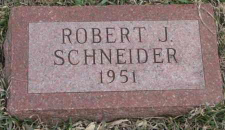 SCHNEIDER, ROBERT J. - Bon Homme County, South Dakota | ROBERT J. SCHNEIDER - South Dakota Gravestone Photos