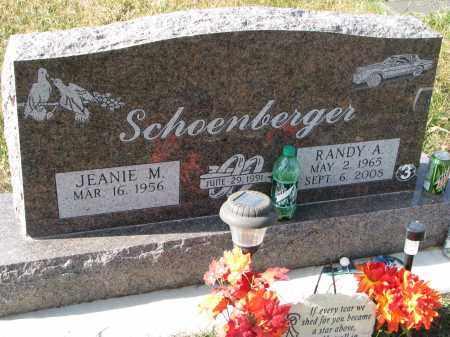SCHOENBERGER, RANDY A. - Bon Homme County, South Dakota   RANDY A. SCHOENBERGER - South Dakota Gravestone Photos