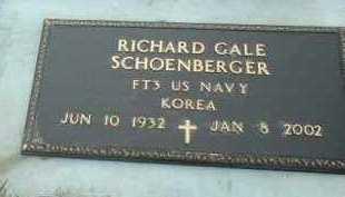 SCHOENBERGER, RICHARD - Bon Homme County, South Dakota   RICHARD SCHOENBERGER - South Dakota Gravestone Photos