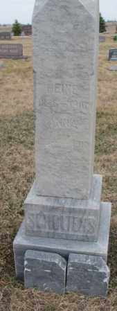 SCHOLTENS, HEINE - Bon Homme County, South Dakota | HEINE SCHOLTENS - South Dakota Gravestone Photos