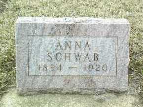 SCHWAB, ANNA - Bon Homme County, South Dakota | ANNA SCHWAB - South Dakota Gravestone Photos