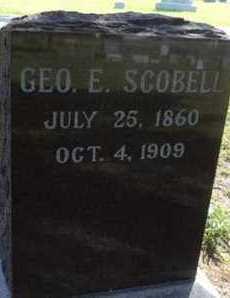 SCOBELL, GEORGE - Bon Homme County, South Dakota   GEORGE SCOBELL - South Dakota Gravestone Photos