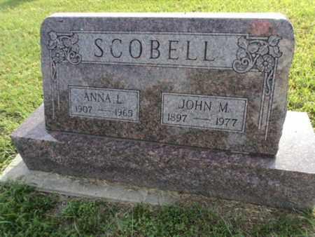 SCOBELL, ANNA - Bon Homme County, South Dakota | ANNA SCOBELL - South Dakota Gravestone Photos