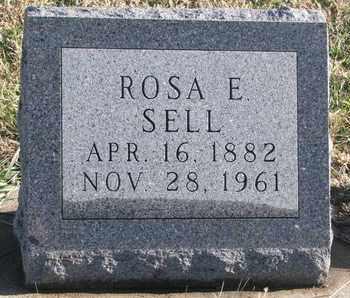 SELL, ROSA E. - Bon Homme County, South Dakota   ROSA E. SELL - South Dakota Gravestone Photos