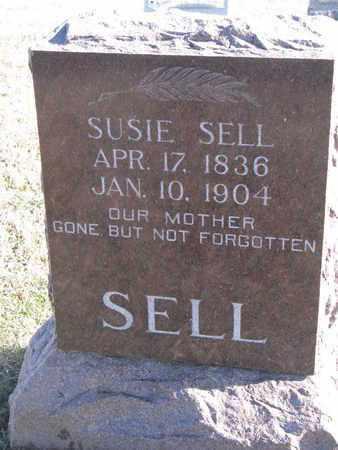 SELL, SUSIE - Bon Homme County, South Dakota | SUSIE SELL - South Dakota Gravestone Photos