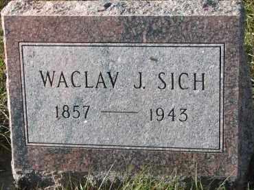 SICH, WACLAV J. - Bon Homme County, South Dakota | WACLAV J. SICH - South Dakota Gravestone Photos