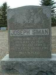 SIMAN, JOSEPH - Bon Homme County, South Dakota | JOSEPH SIMAN - South Dakota Gravestone Photos