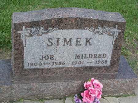 SIMEK, JOE - Bon Homme County, South Dakota | JOE SIMEK - South Dakota Gravestone Photos