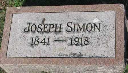 SIMON, JOSEPH - Bon Homme County, South Dakota | JOSEPH SIMON - South Dakota Gravestone Photos
