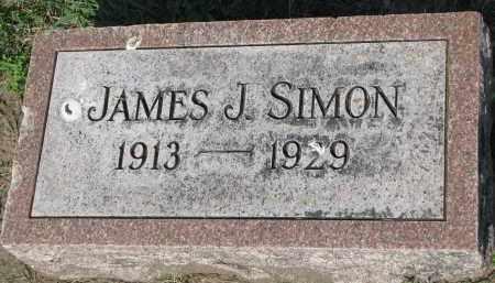 SIMON, JAMES J. - Bon Homme County, South Dakota | JAMES J. SIMON - South Dakota Gravestone Photos