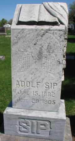 SIP, ADOLF - Bon Homme County, South Dakota | ADOLF SIP - South Dakota Gravestone Photos