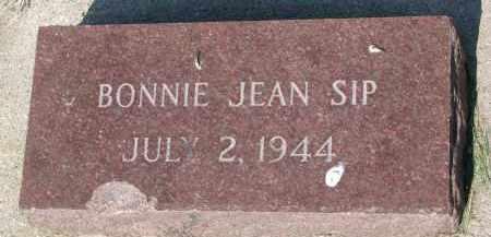 SIP, BONNIE JEAN - Bon Homme County, South Dakota | BONNIE JEAN SIP - South Dakota Gravestone Photos