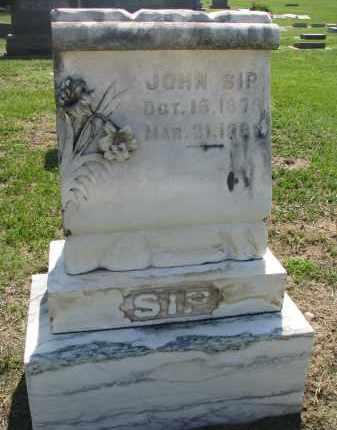 SIP, JOHN - Bon Homme County, South Dakota | JOHN SIP - South Dakota Gravestone Photos