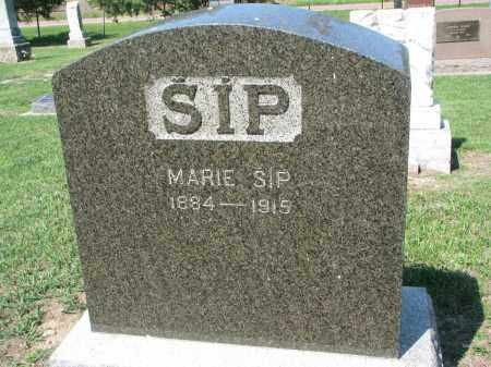 SIP, MARIE - Bon Homme County, South Dakota   MARIE SIP - South Dakota Gravestone Photos