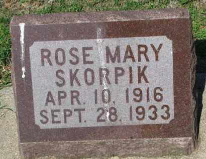 SKORPIC, ROSE MARY - Bon Homme County, South Dakota | ROSE MARY SKORPIC - South Dakota Gravestone Photos