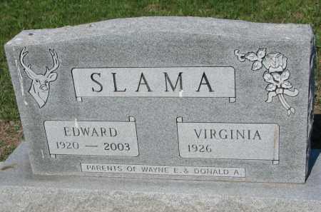 SLAMA, VIRGINIA - Bon Homme County, South Dakota | VIRGINIA SLAMA - South Dakota Gravestone Photos