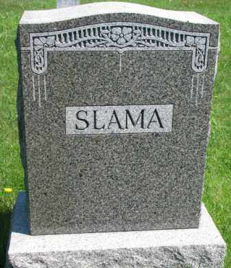 SLAMA, FAMILY STONE - Bon Homme County, South Dakota | FAMILY STONE SLAMA - South Dakota Gravestone Photos