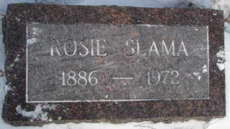 SLAMA, ROSIE - Bon Homme County, South Dakota | ROSIE SLAMA - South Dakota Gravestone Photos