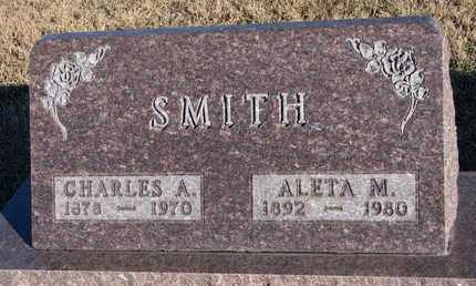 SMITH, CHARLES A. - Bon Homme County, South Dakota | CHARLES A. SMITH - South Dakota Gravestone Photos