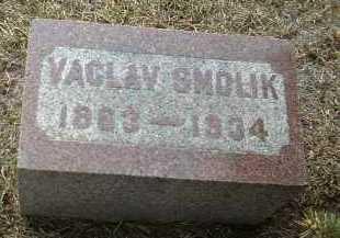 SMOLIK, VACLAV - Bon Homme County, South Dakota | VACLAV SMOLIK - South Dakota Gravestone Photos