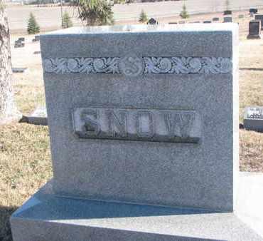 SNOW, FAMILY STONE - Bon Homme County, South Dakota | FAMILY STONE SNOW - South Dakota Gravestone Photos