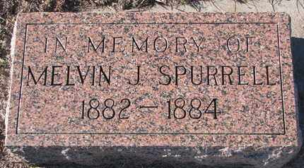 SPURRELL, MELVIN J. - Bon Homme County, South Dakota | MELVIN J. SPURRELL - South Dakota Gravestone Photos