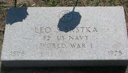 SRSTKA, LEO S. - Bon Homme County, South Dakota | LEO S. SRSTKA - South Dakota Gravestone Photos