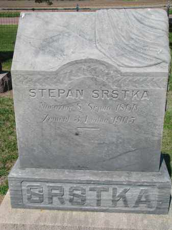 SRSTKA, STEPAN - Bon Homme County, South Dakota | STEPAN SRSTKA - South Dakota Gravestone Photos