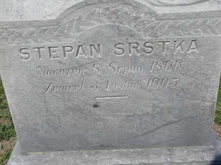 SRSTKA, STEPAN (CLOSEUP) - Bon Homme County, South Dakota | STEPAN (CLOSEUP) SRSTKA - South Dakota Gravestone Photos