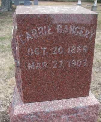 BANGERT, CARRIE - Bon Homme County, South Dakota | CARRIE BANGERT - South Dakota Gravestone Photos