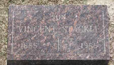 STACKLE, VINCENT - Bon Homme County, South Dakota   VINCENT STACKLE - South Dakota Gravestone Photos