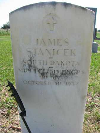 STANICEK, JAMES - Bon Homme County, South Dakota   JAMES STANICEK - South Dakota Gravestone Photos