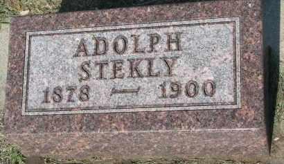 STEKLY, ADOLPH - Bon Homme County, South Dakota | ADOLPH STEKLY - South Dakota Gravestone Photos